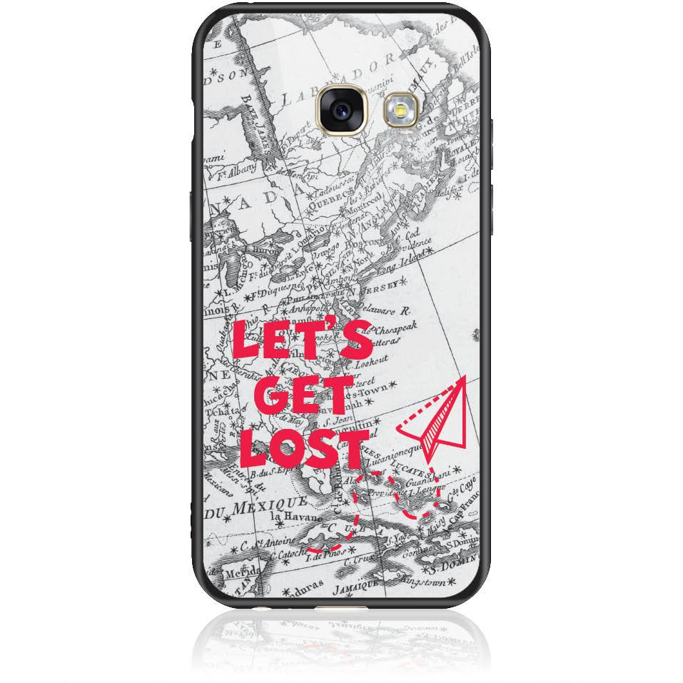 Case Design 50163  -  Samsung Galaxy A3 (2017)  -  Tempered Glass Case
