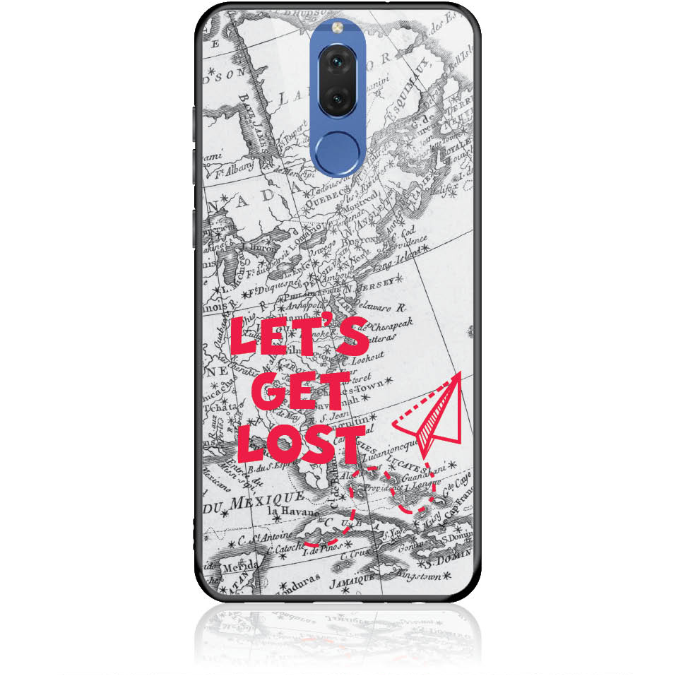 Case Design 50163  -  Huawei Nova 2i  -  Tempered Glass Case