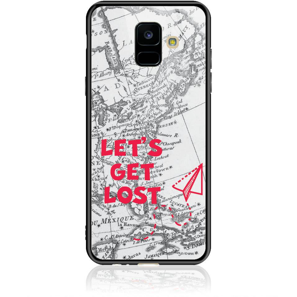 Case Design 50163  -  Samsung Galaxy A6 (2018)  -  Tempered Glass Case