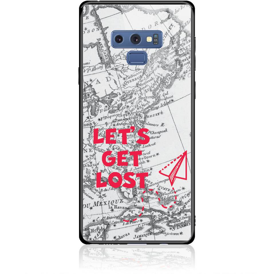 Case Design 50163  -  Samsung Galaxy Note 9  -  Tempered Glass Case