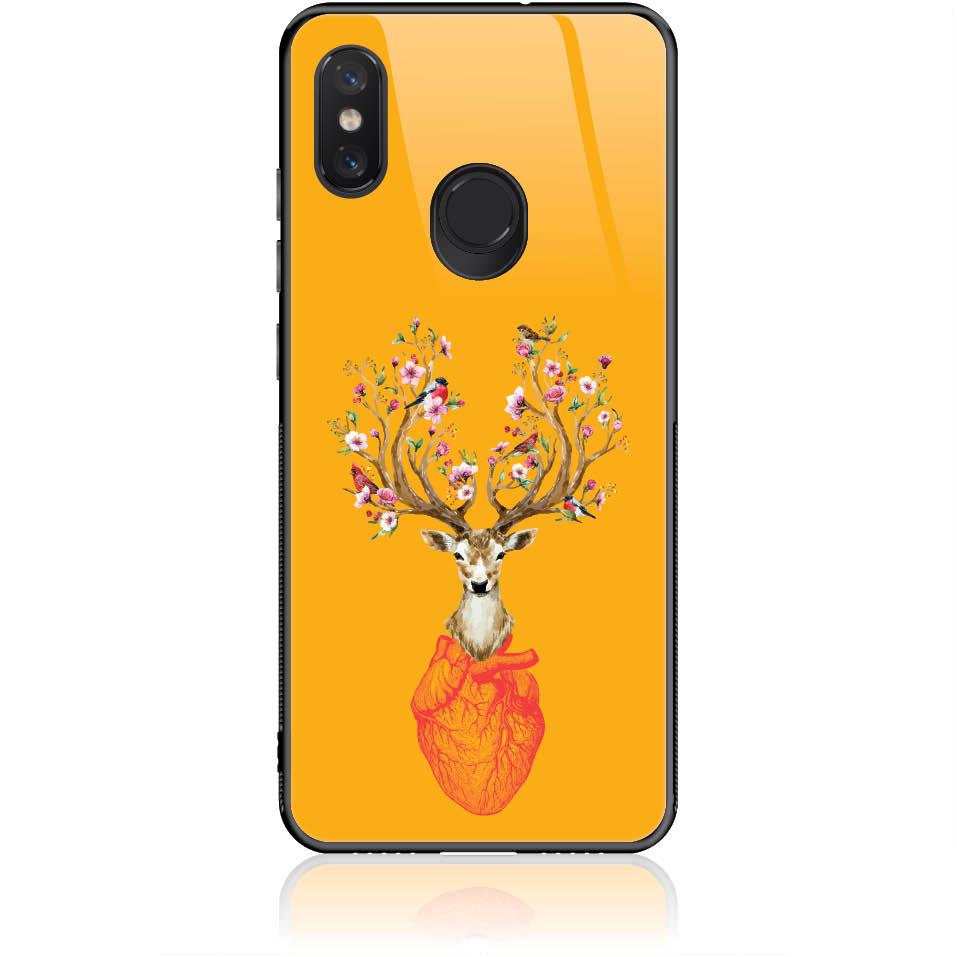 Case Design 50185  -  Xiaomi Mi 8  -  Tempered Glass Case