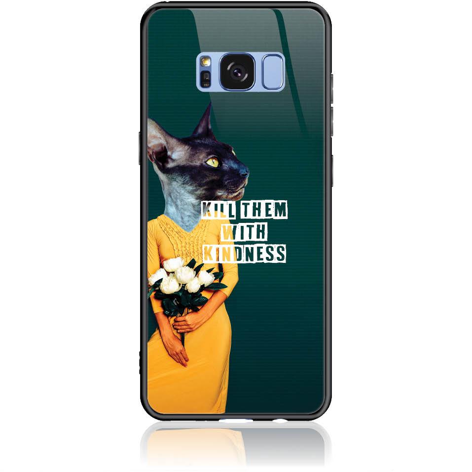 Case Design 50195  -  Samsung Galaxy S8  -  Tempered Glass Case
