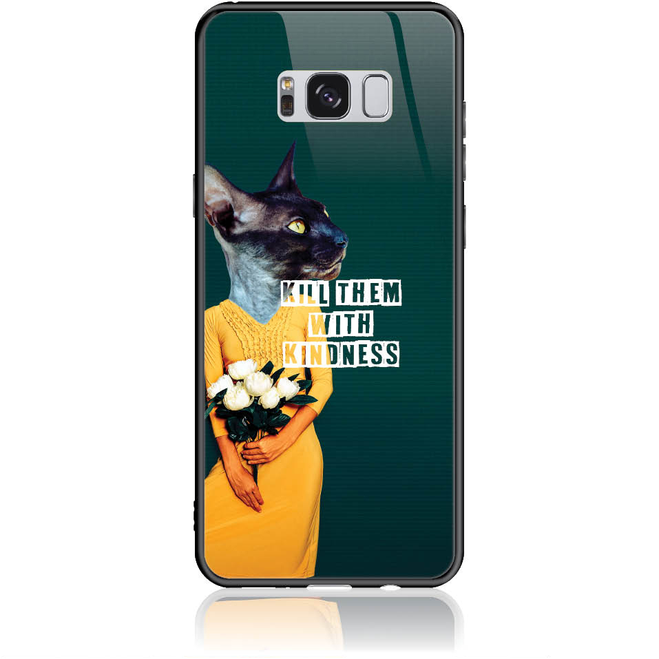 Case Design 50195  -  Samsung Galaxy S8+  -  Tempered Glass Case