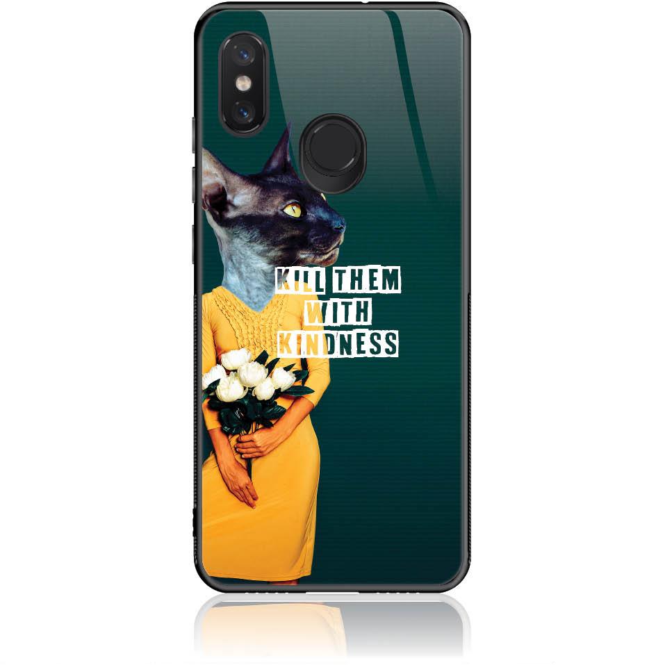 Case Design 50195  -  Xiaomi Mi 8  -  Tempered Glass Case