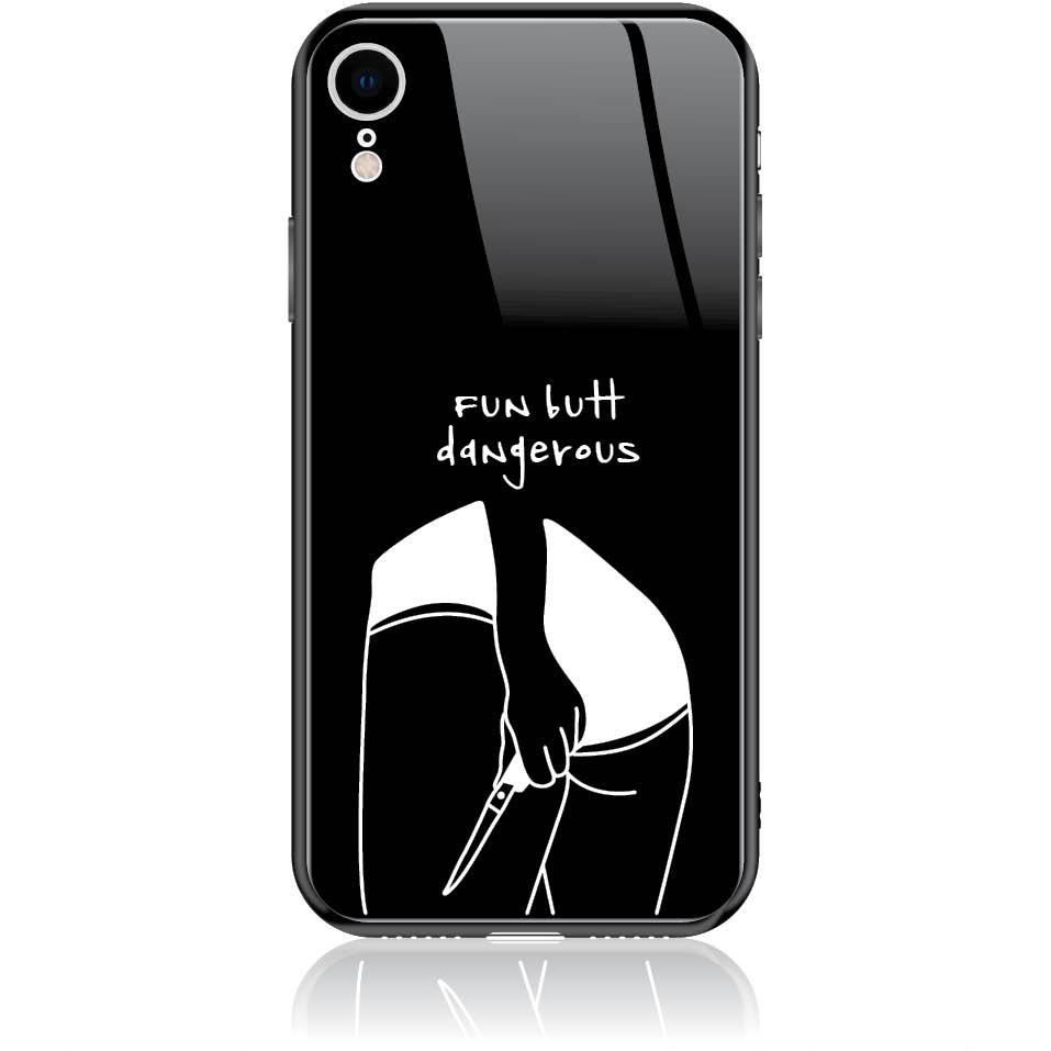 Fun But Dangerous Phone Case Design 50225  -  Iphone Xr  -  Tempered Glass Case