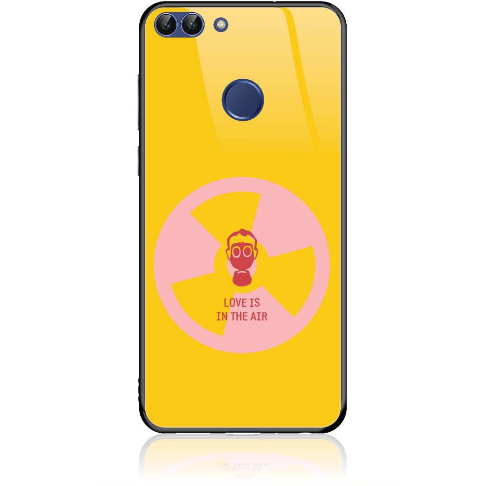 Nuclear Love Phone Case Design 50229  -  Huawei P Smart  -  Tempered Glass Case