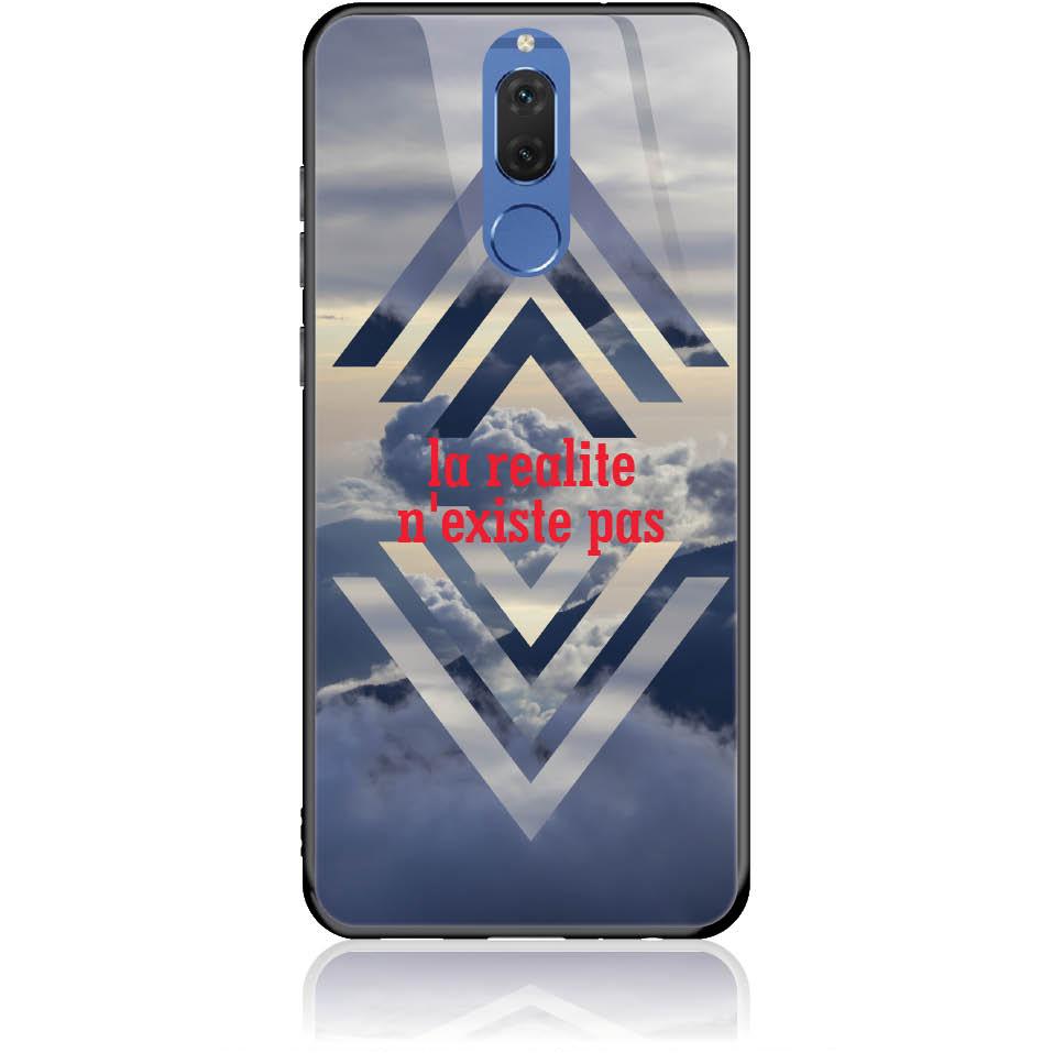 Case Design 50238  -  Huawei Mate 10 Lite  -  Tempered Glass Case