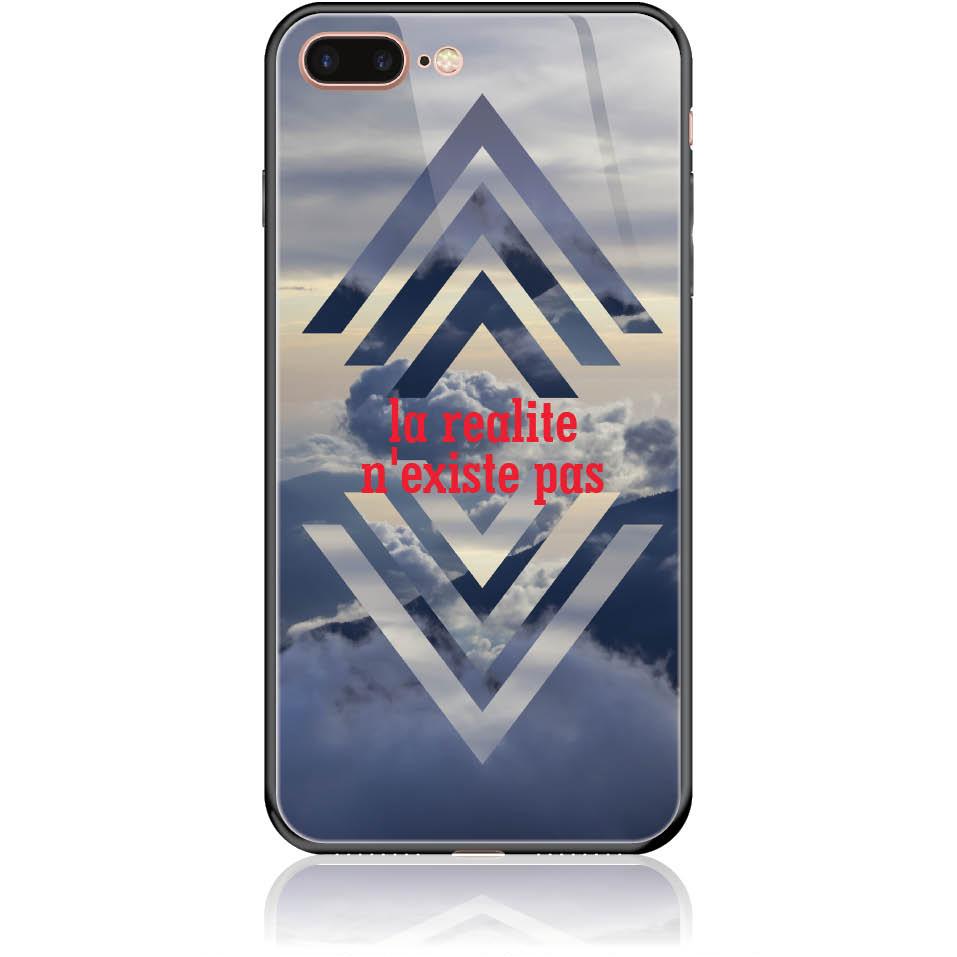 Case Design 50238  -  Iphone 8 Plus  -  Tempered Glass Case