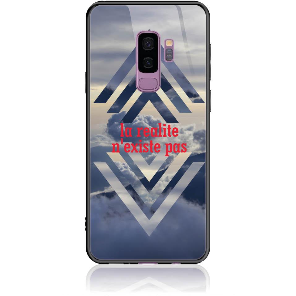Case Design 50238  -  Samsung Galaxy S9+  -  Tempered Glass Case