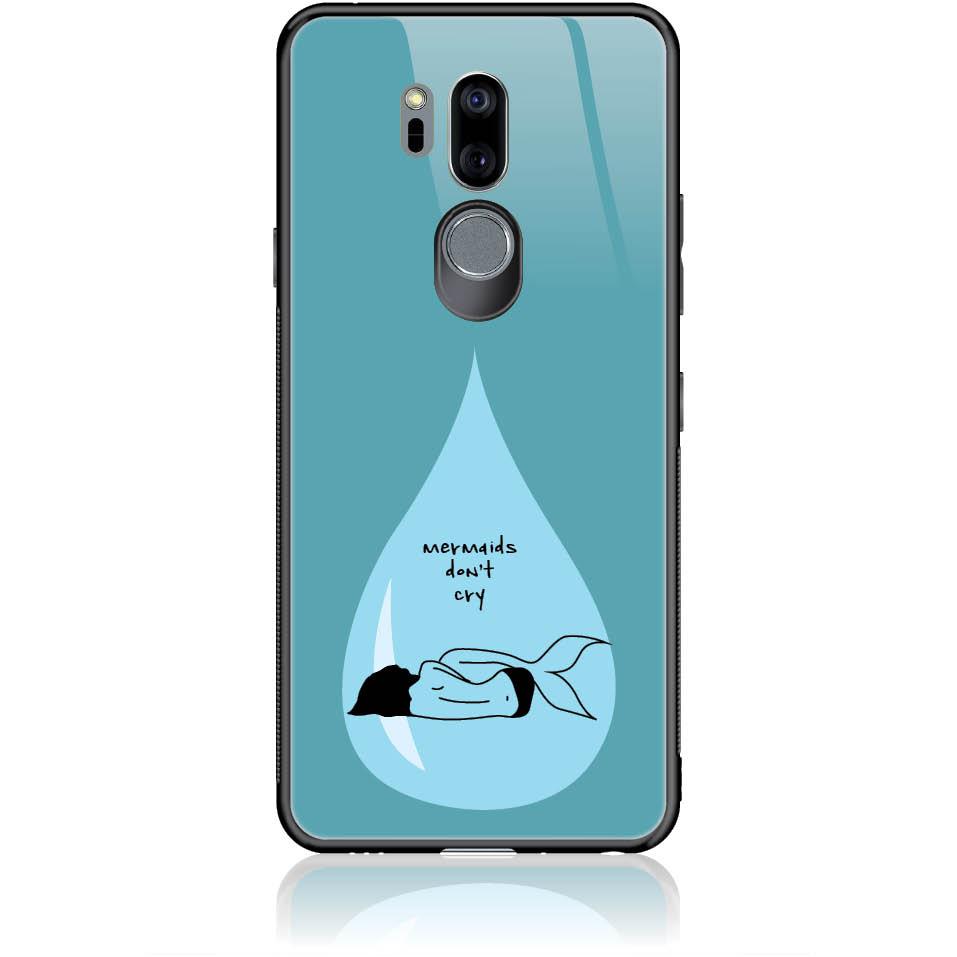 Mermaid's Tear Phone Case Design 50251  -  Lg G7 Thinq  -  Tempered Glass Case