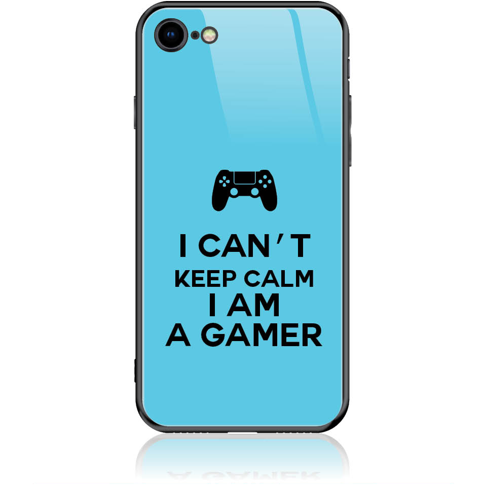 Can't Keep Calm Gamer Phone Case Design 50259  -  Iphone 8  -  Tempered Glass Case