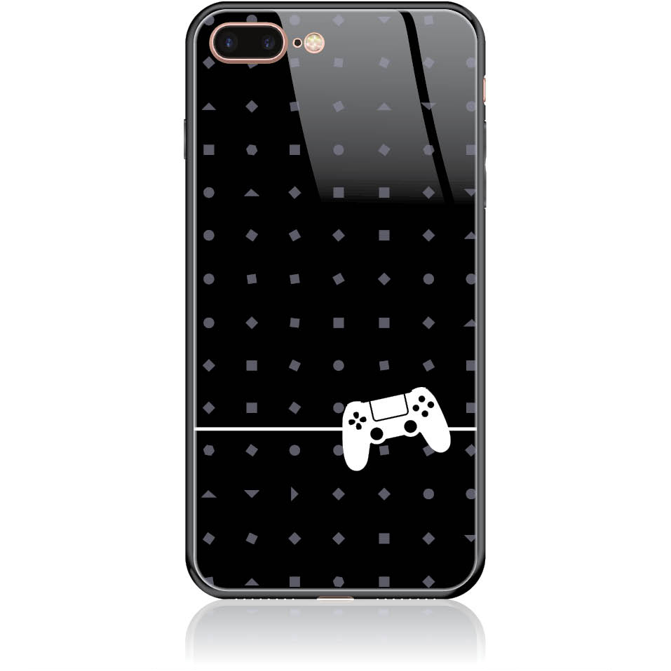 Nation Playstation Phone Case Design 50262  -  Iphone 8 Plus  -  Tempered Glass Case