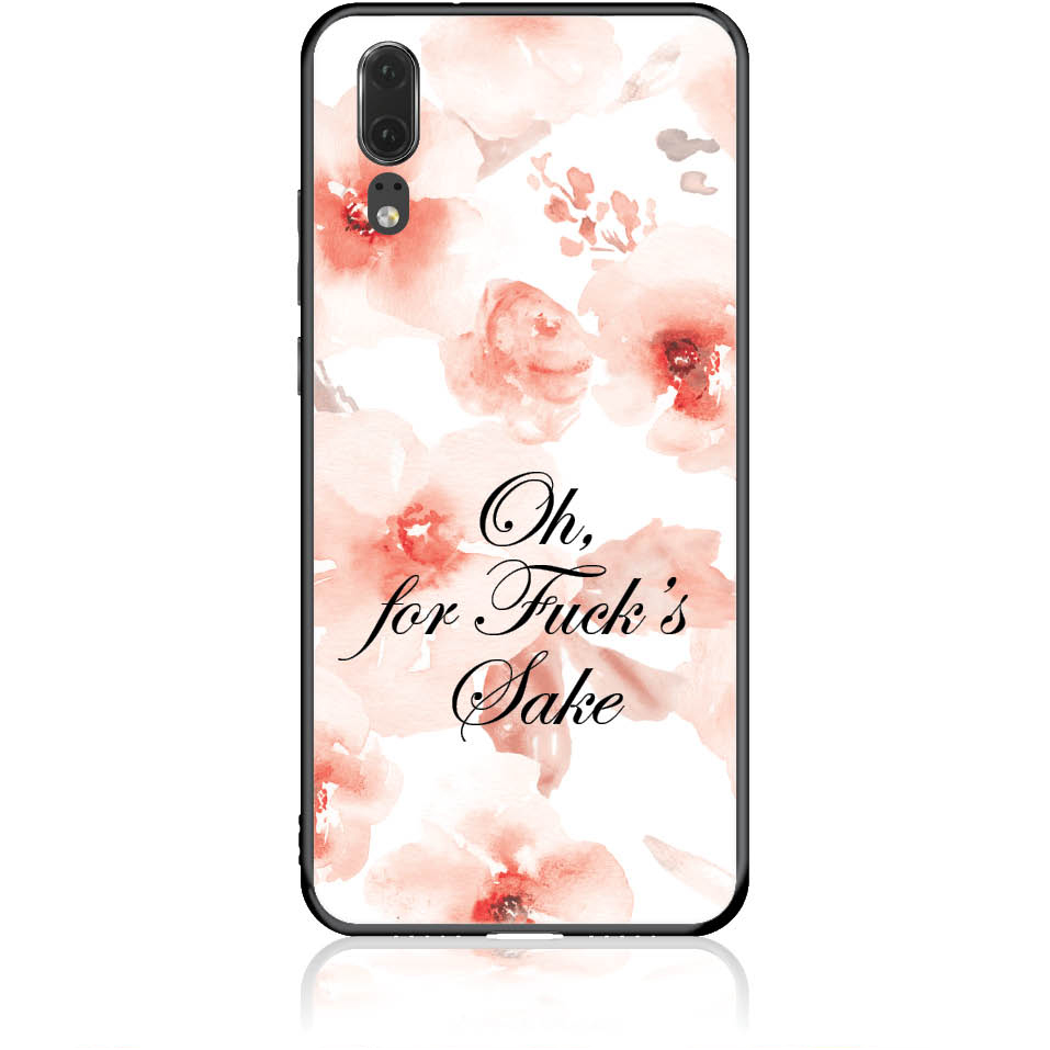 Fuck's Shake Phone Case Design 50263  -  Huawei P20  -  Tempered Glass Case