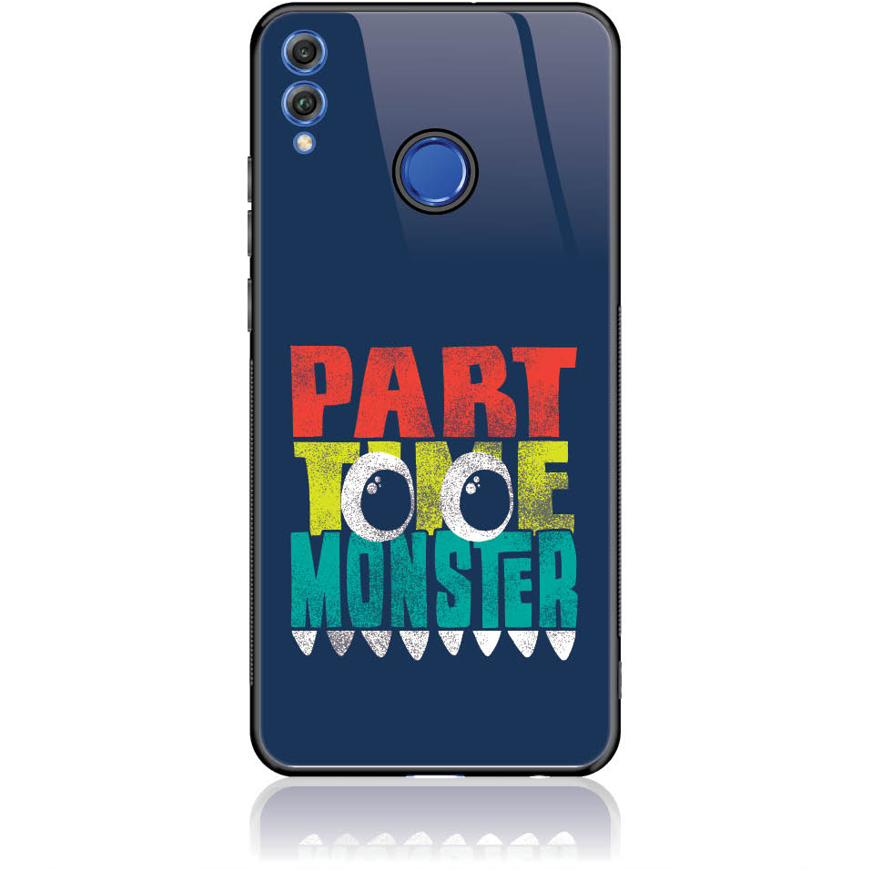 Case Design 50274  -  Honor 9 Lite  -  Tempered Glass Case