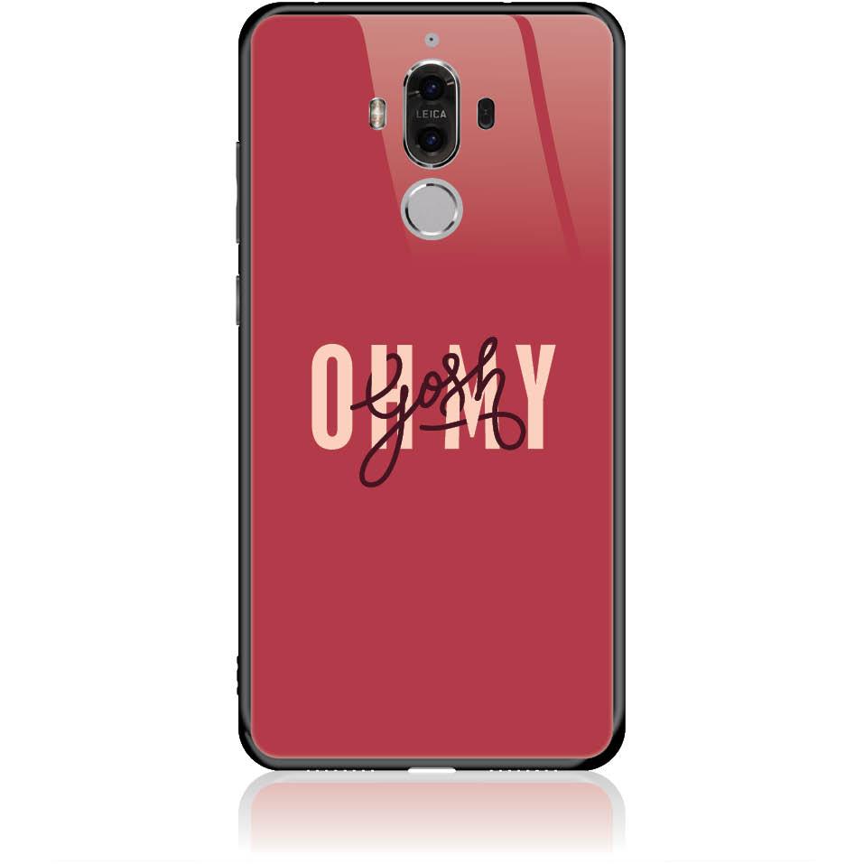 Case Design 50293  -  Huawei Mate 9  -  Tempered Glass Case