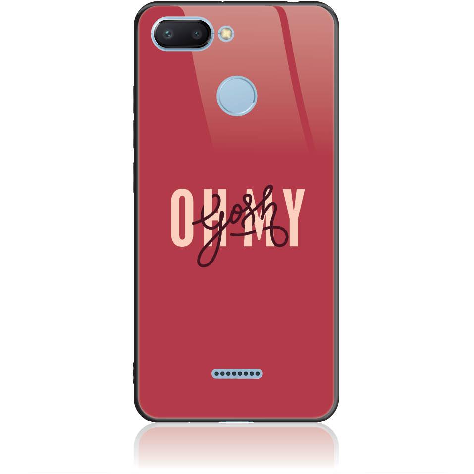 Case Design 50293  -  Xiaomi Redmi 6  -  Tempered Glass Case