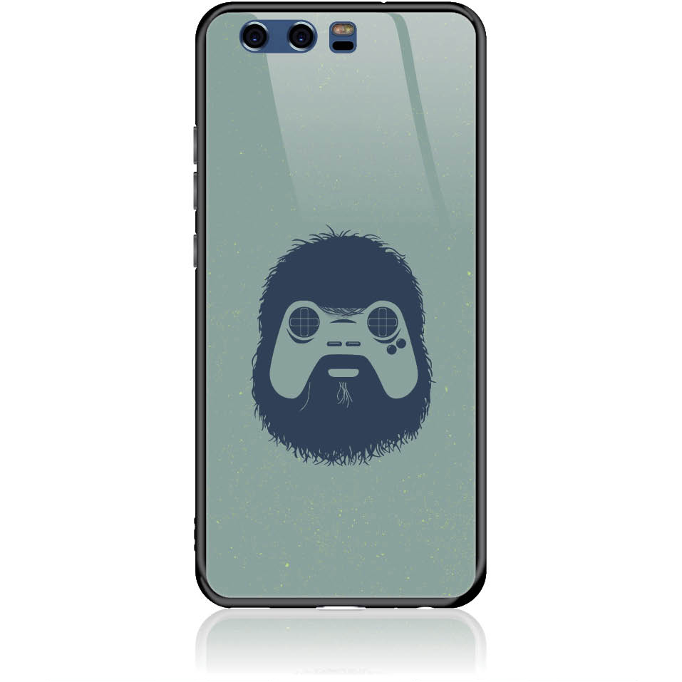Game Face On Phone Case Design 50299  -  Huawei P10  -  Tempered Glass Case
