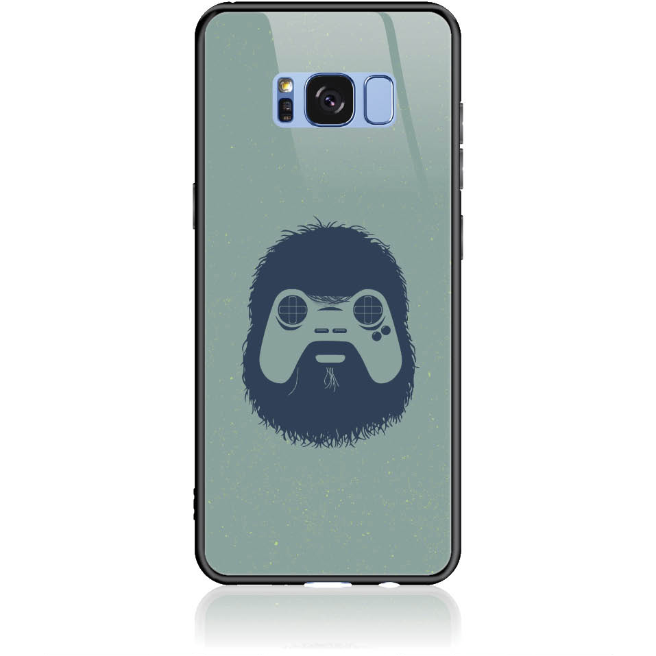 Game Face On Phone Case Design 50299  -  Samsung Galaxy S8  -  Tempered Glass Case