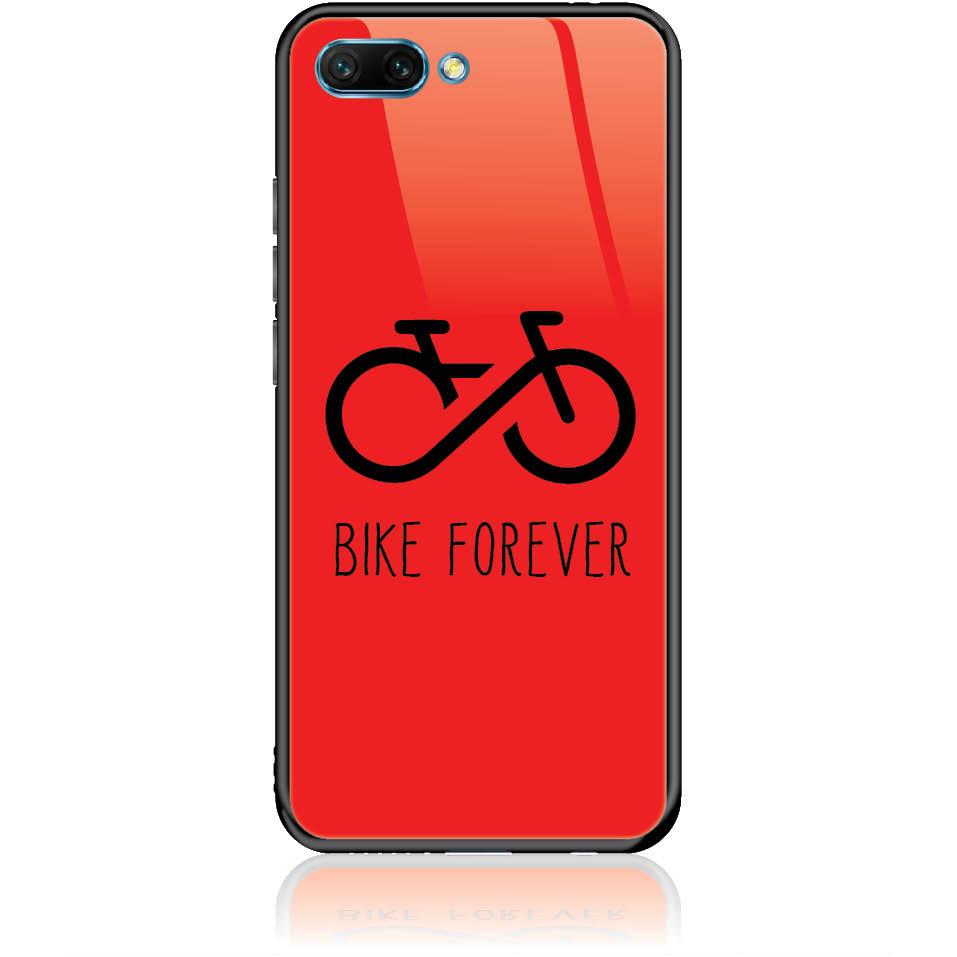 Forever Bike Phone Case Design 50304  -  Honor 10  -  Tempered Glass Case