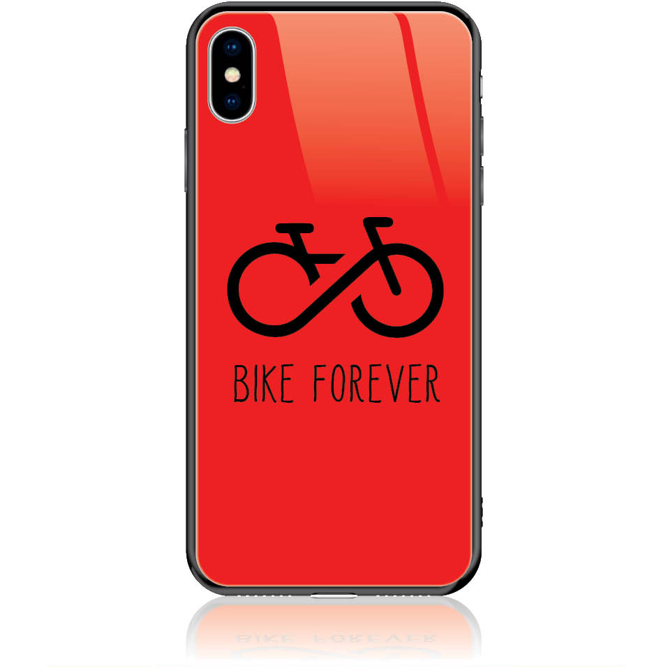 Forever Bike Phone Case Design 50304  -  Iphone Xs Max  -  Tempered Glass Case