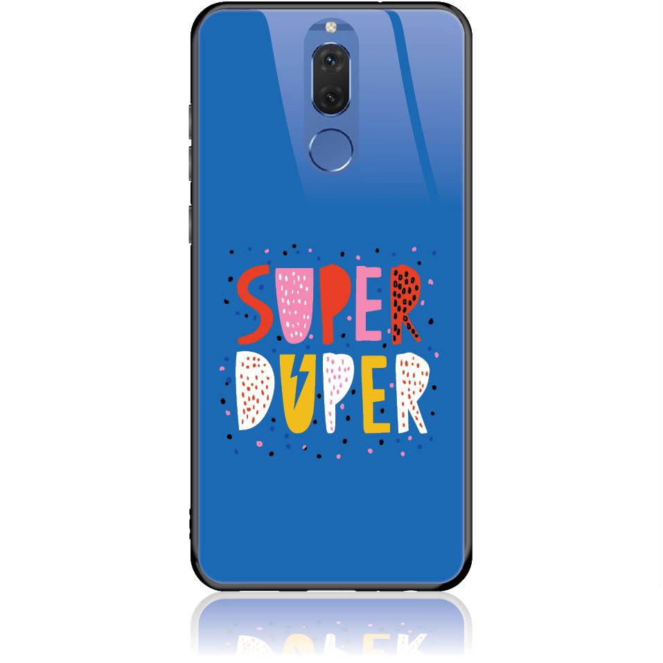 Case Design 50313  -  Huawei Nova 2i  -  Tempered Glass Case