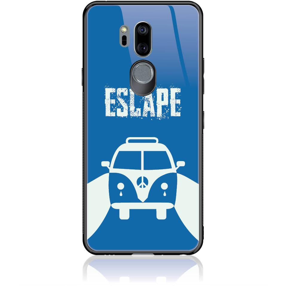 Escape For Life Phone Case Design 50314  -  Lg G7 Thinq  -  Tempered Glass Case