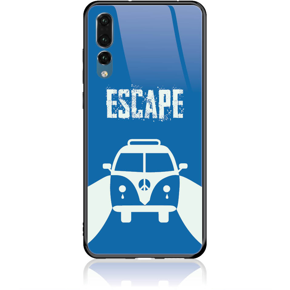 Escape For Life Phone Case Design 50314  -  Huawei P20 Pro  -  Tempered Glass Case