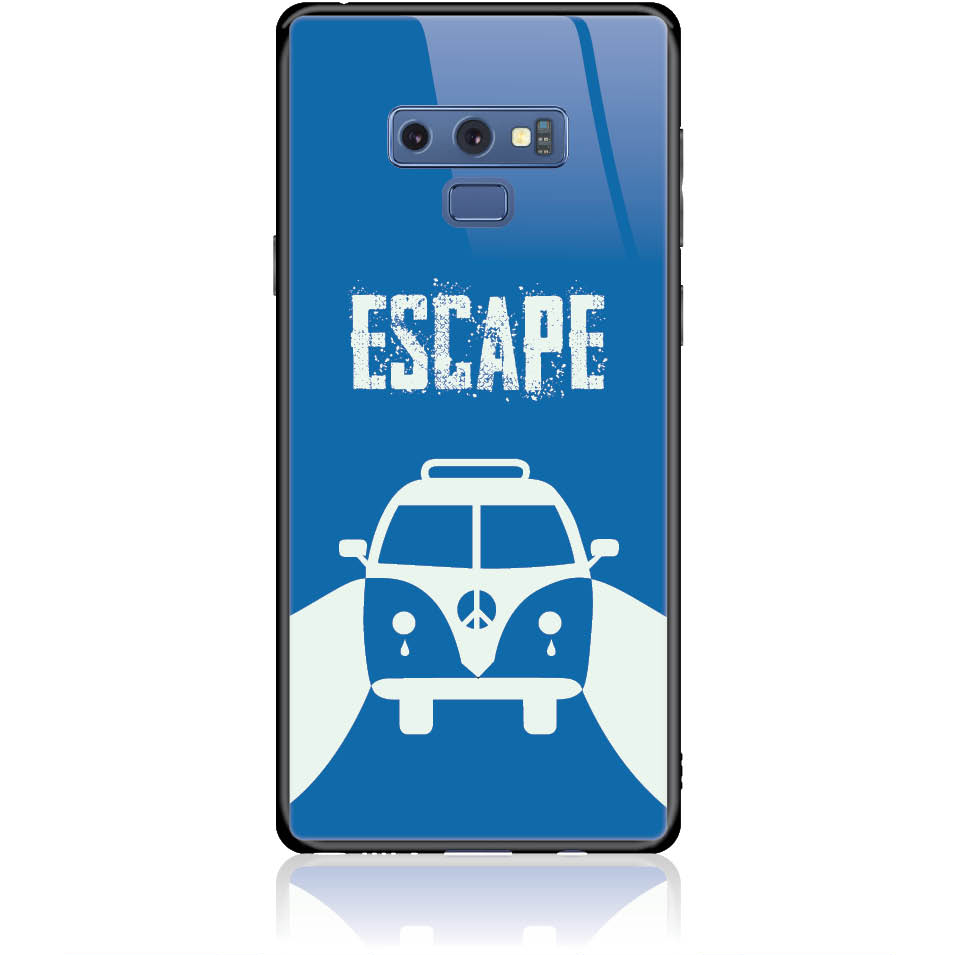 Escape For Life Phone Case Design 50314  -  Samsung Galaxy Note 9  -  Tempered Glass Case