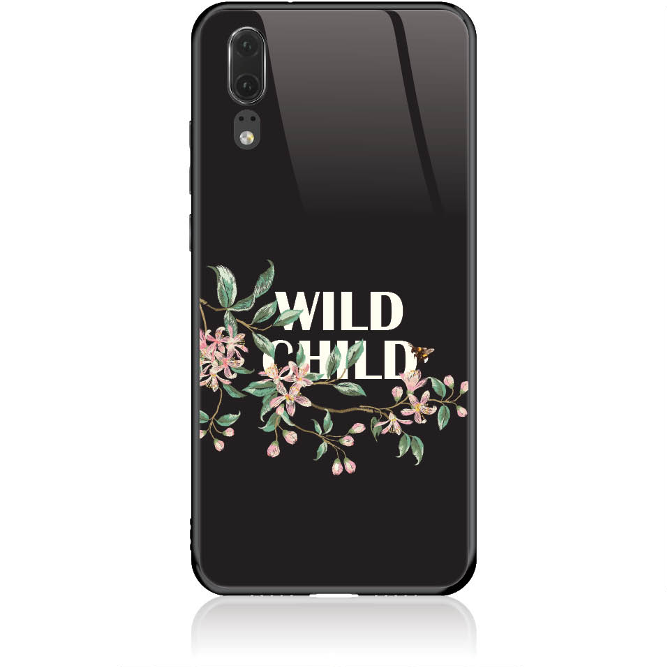 Case Design 50318  -  Huawei P20  -  Tempered Glass Case