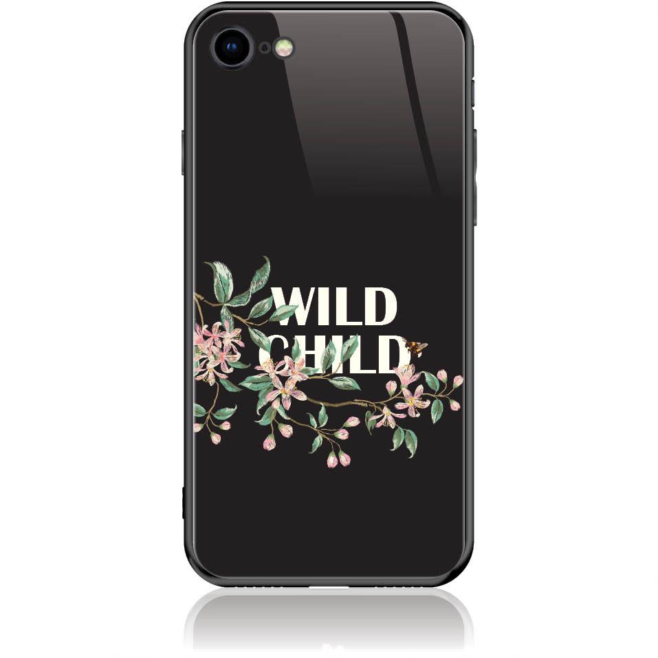 Case Design 50318  -  Iphone 8  -  Tempered Glass Case