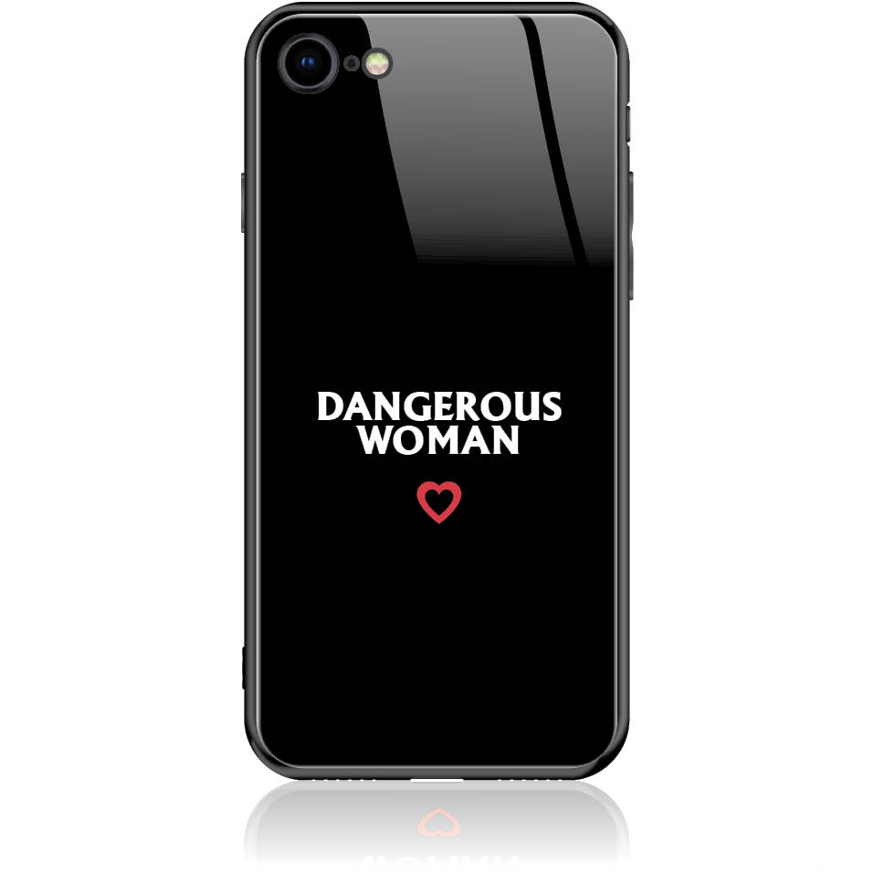 Case Design 50326  -  Iphone 7  -  Tempered Glass Case