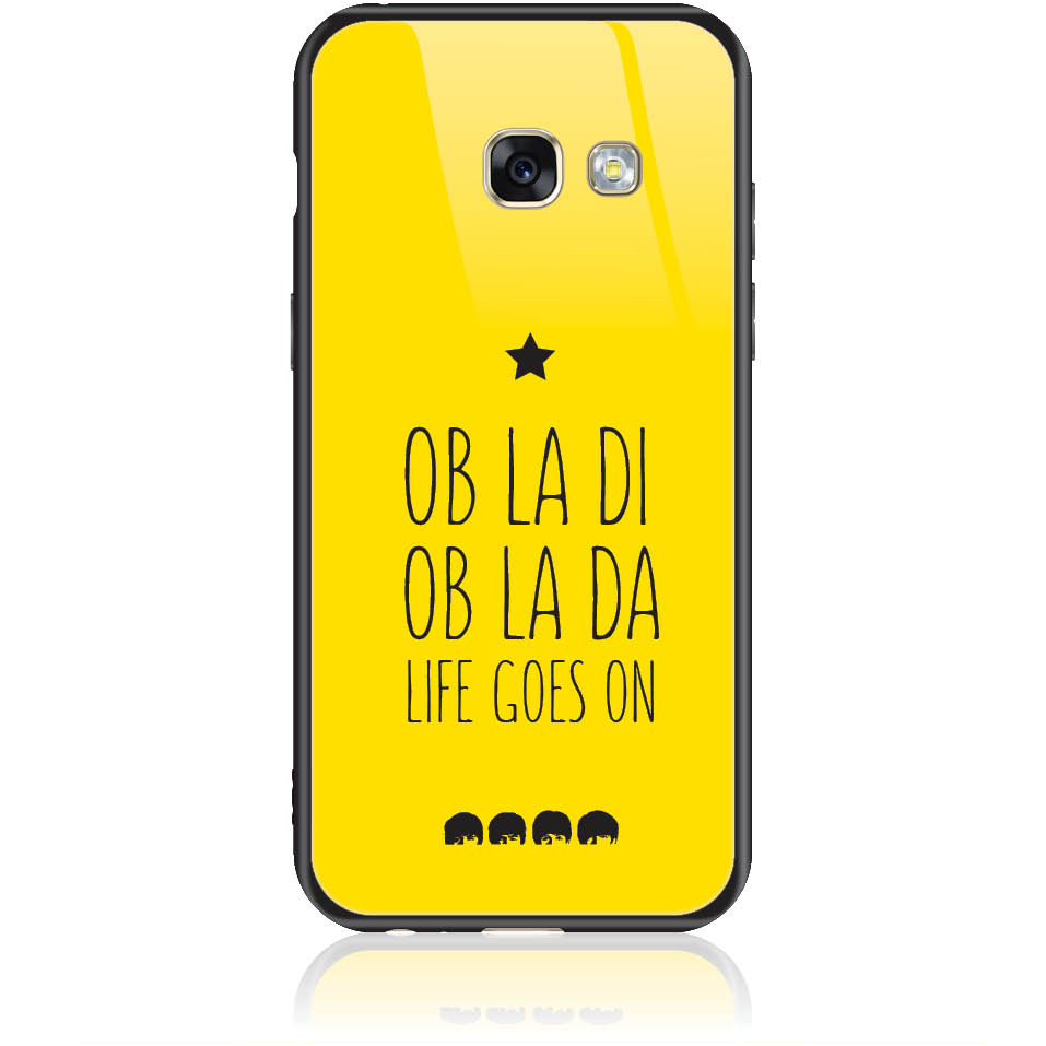 Case Design 50330  -  Samsung Galaxy A3 (2017)  -  Tempered Glass Case