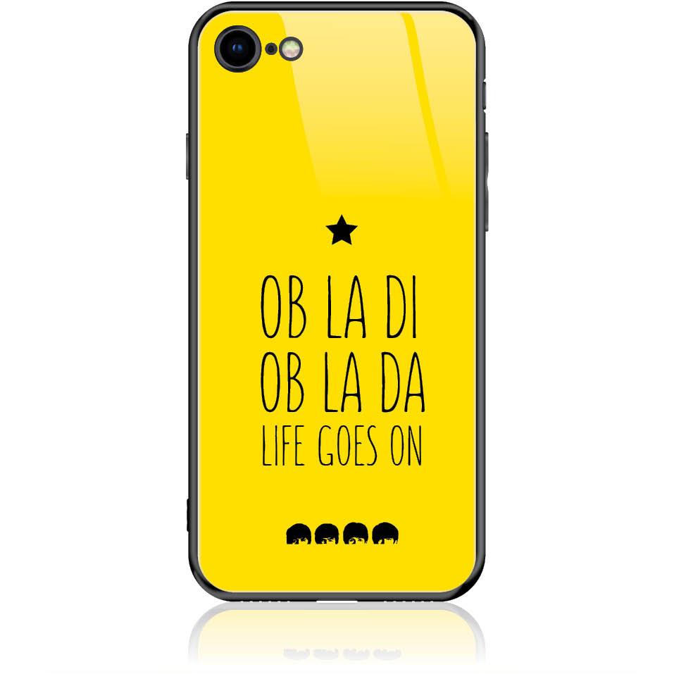 Case Design 50330  -  Iphone 8  -  Tempered Glass Case
