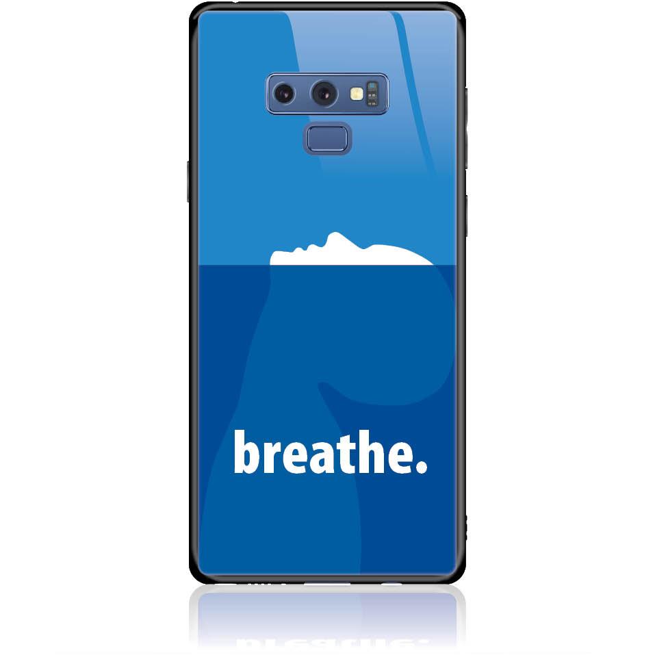 Case Design 50335  -  Samsung Galaxy Note 9  -  Tempered Glass Case