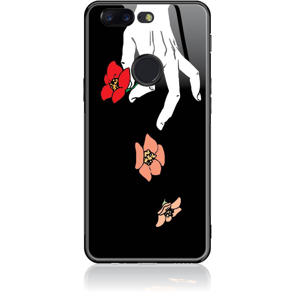 Case Design 50337  -  One Plus 5t  -  Tempered Glass Case