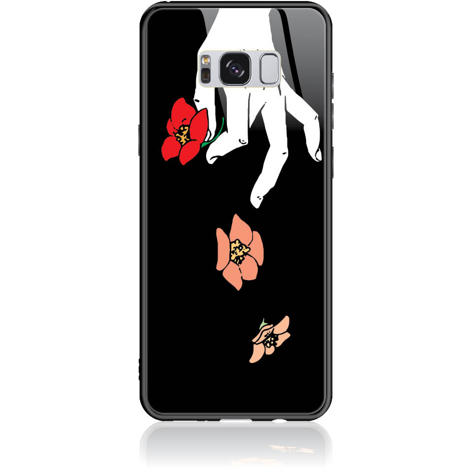 Case Design 50337  -  Samsung Galaxy S8+  -  Tempered Glass Case