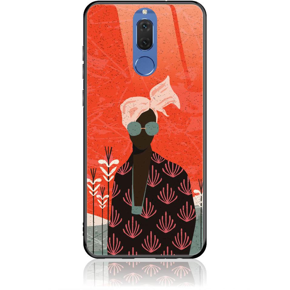 Melanin Afro Beauty Phone Case Design 50348  -  Huawei Mate 10 Lite  -  Soft Tpu Case