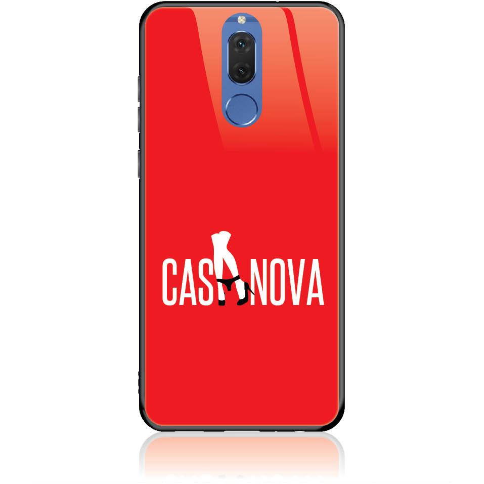 Case Design 50349  -  Huawei Nova 2i  -  Tempered Glass Case