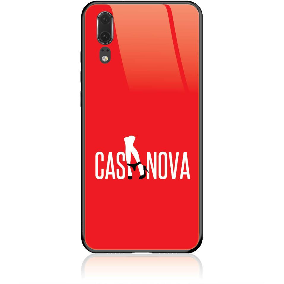 Case Design 50349  -  Huawei P20  -  Tempered Glass Case