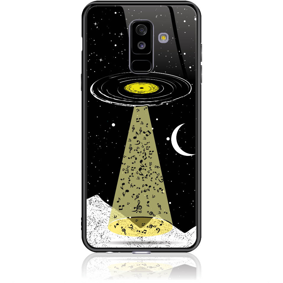 Case Design 50350  -  Samsung Galaxy A6+ (2018)  -  Tempered Glass Case