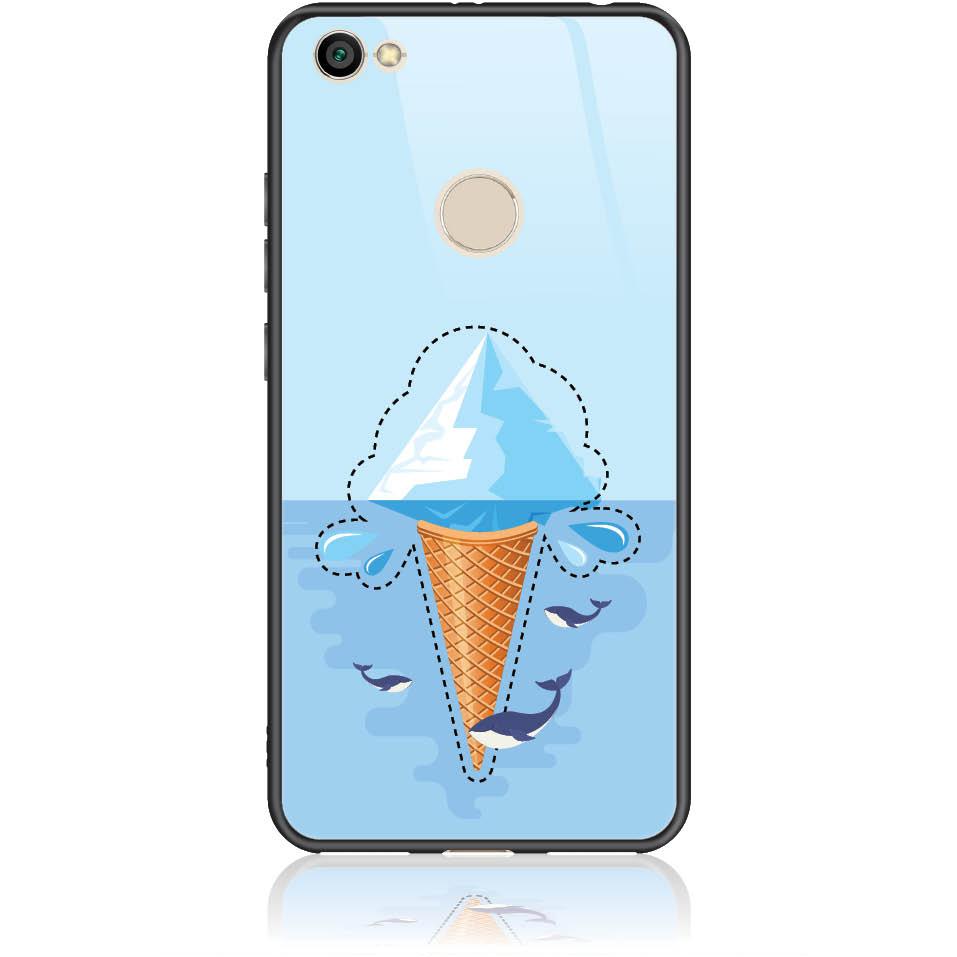 Case Design 50352  -  Xiaomi Redmi Note 5a Prime  -  Tempered Glass Case