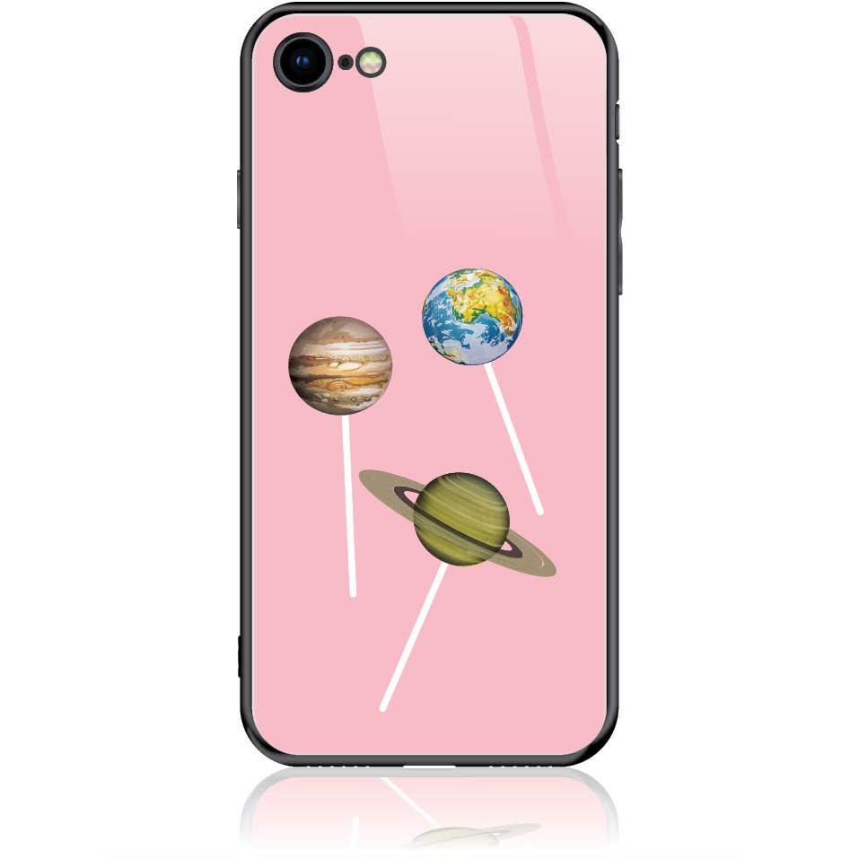 Case Design 50356  -  Iphone 8  -  Tempered Glass Case