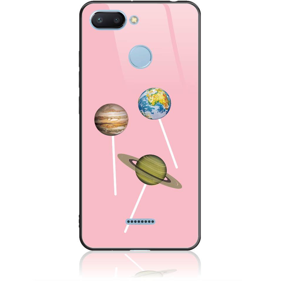 Case Design 50356  -  Xiaomi Redmi 6  -  Tempered Glass Case
