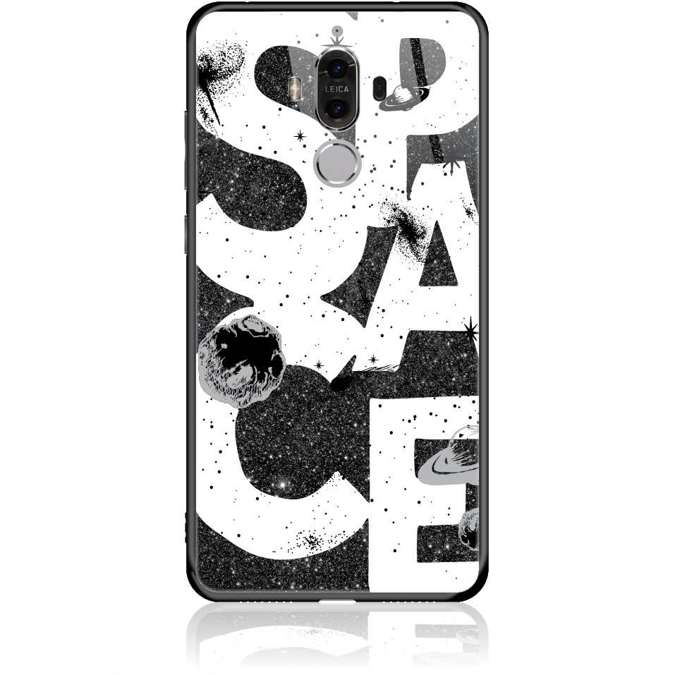 Space Art Phone Case Design 50375  -  Huawei Mate 9  -  Tempered Glass Case