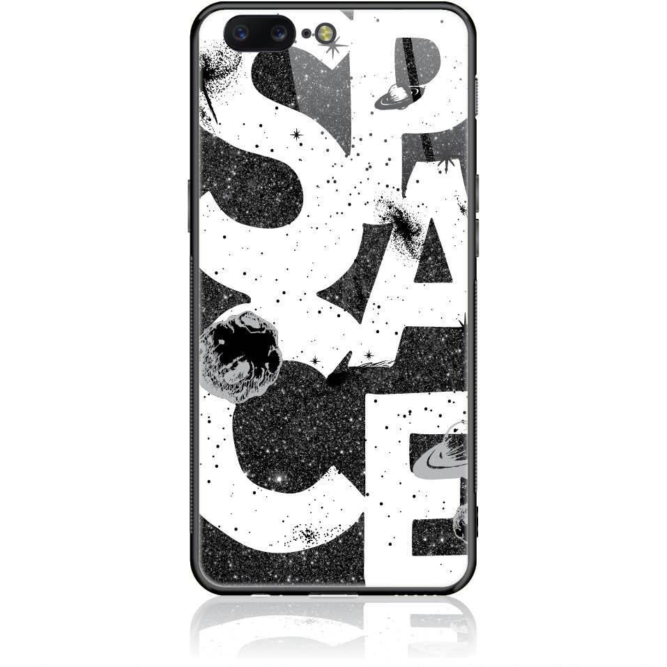 Space Art Phone Case Design 50375  -  One Plus 5  -  Tempered Glass Case
