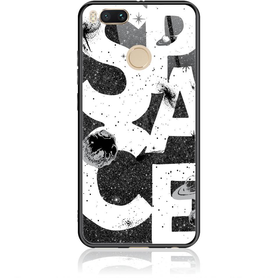 Space Art Phone Case Design 50375  -  Xiaomi Mi 5x  -  Tempered Glass Case
