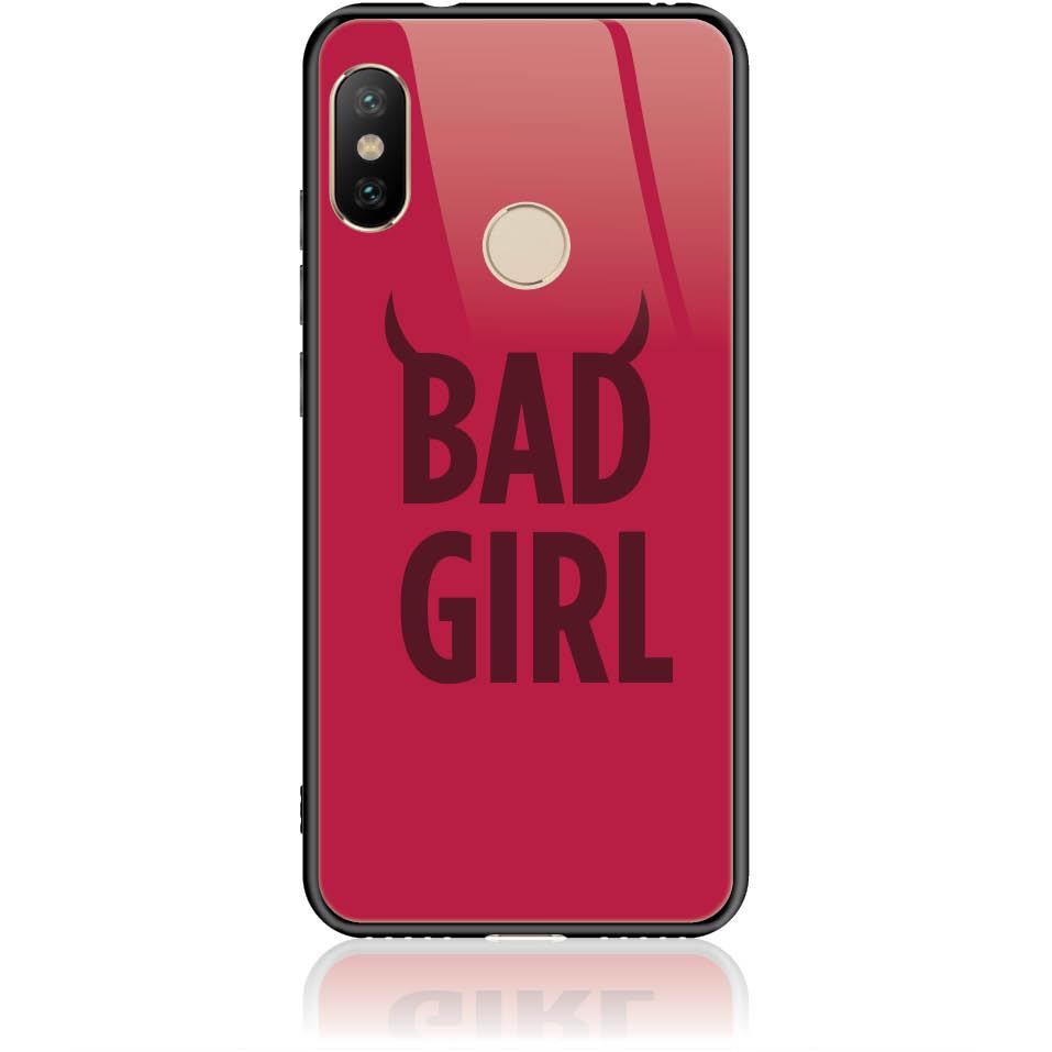 Case Design 50399  -  Xiaomi Mi A2 Lite  -  Tempered Glass Case