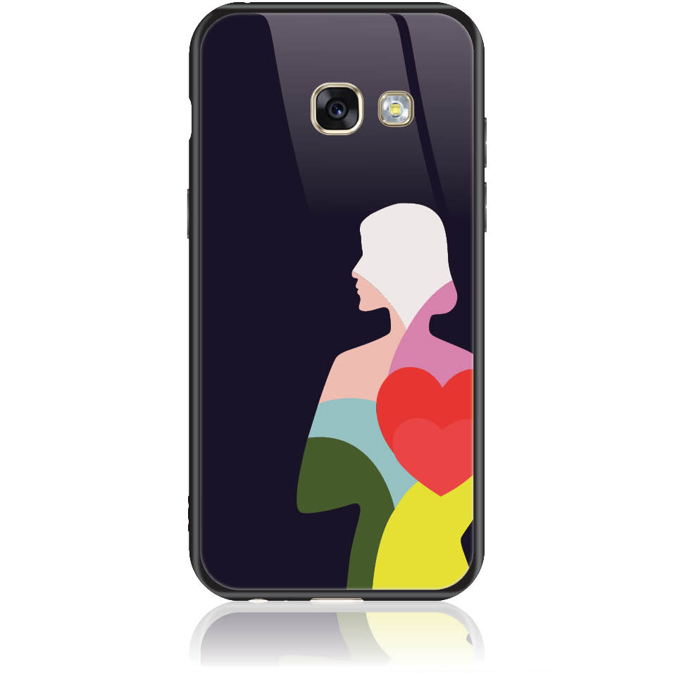 Case Design 50401  -  Samsung Galaxy A3 (2017)  -  Tempered Glass Case