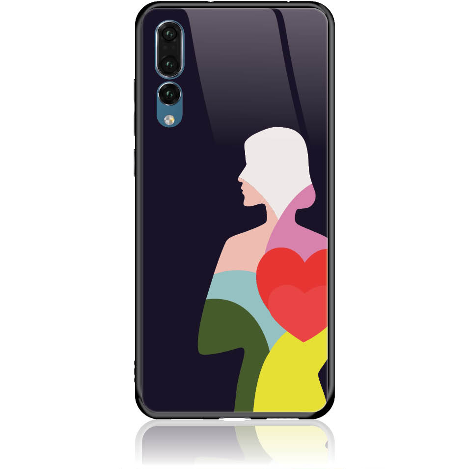 Case Design 50401  -  Huawei P20 Pro  -  Tempered Glass Case