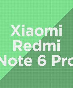 Customize Xiaomi Redmi Note 6 Pro
